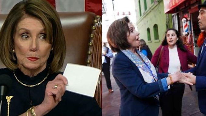 Nancy Pelosi quietly deletes video of herself in Chinatown in February, downplaying the coronavirus crisis