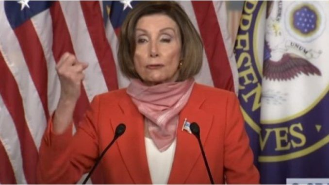 Nancy Pelosi promises to hold a hearing on the firing of Dr. Rick Bright