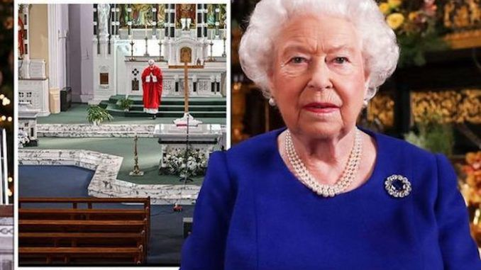 Queen Elizabeth II gives rare speech on Easter Sunday, announcing Christ is risen
