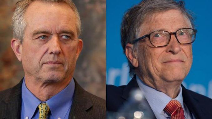"The WHO is ""conducting global social and medical experimentation"" in accordance with Bill Gates' vision, says Robert F Kennedy Jr."