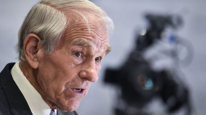 """Authoritarians have effectively """"suspended the Constitution"""" and """"placed the country under house arrest,"""" says former Congressman Ron Paul, who says """"Resistance is building to to coronavirus house arrest orders... and it's about time!"""""""