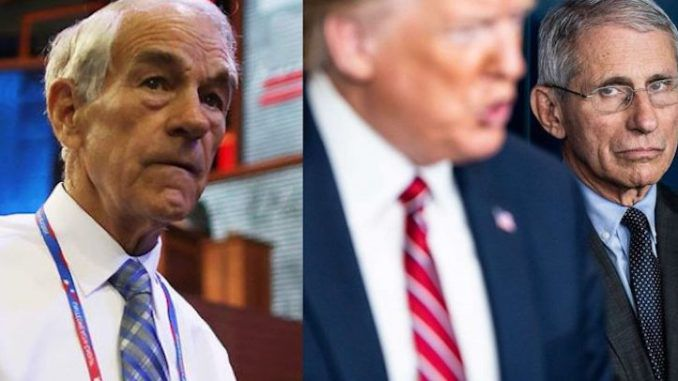 Ron Paul urges President Trump to fire Dr. Anthony Fauci