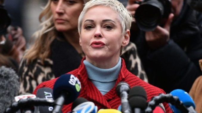 Rose McGowan calls Democrats and media a 'cult'