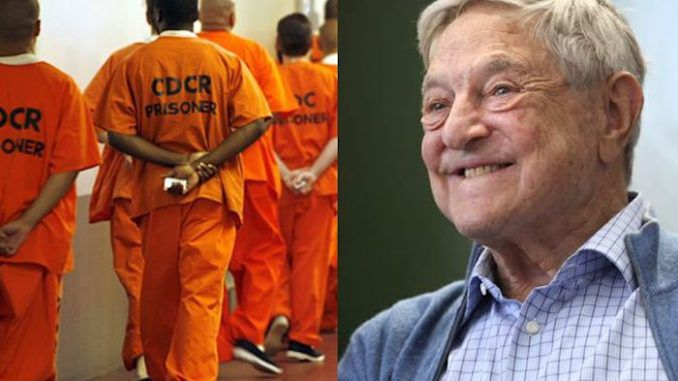 A George Soros-funded organization has assisted a number of felons, including a pedophile and a child molester, to walk free from jail to protect them from catching the coronavirus.