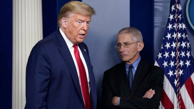 President Trump retweets call to fire Dr. Anthony Fauci