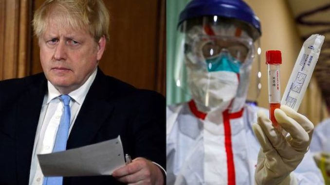 Senior UK government ministers believe the coronavirus pandemic may have been caused by a leak from a Chinese laboratory, according to British reports.
