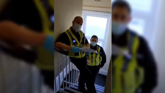 UK journalist gets home visit from British police for reporting on mosques flouting lockdown rules