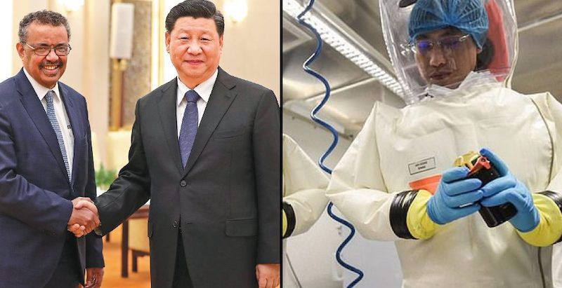 WHO helped cover up coronavirus leak from Chinese lab