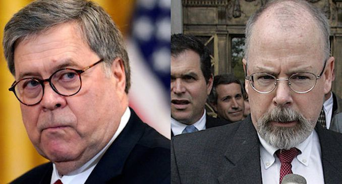 AG William Barr says Durham probe has uncovered evidence of something far more troubling than just mistakes