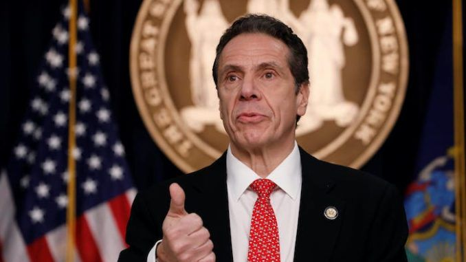 Gov. Andrew Cuomo threatens to sue government if they put New Yorkers in danger