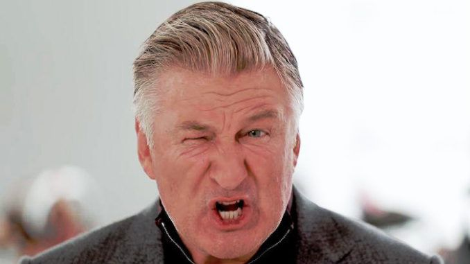 Alec Baldwin tells Trump supporters not to bother voting this November and to stay at home.