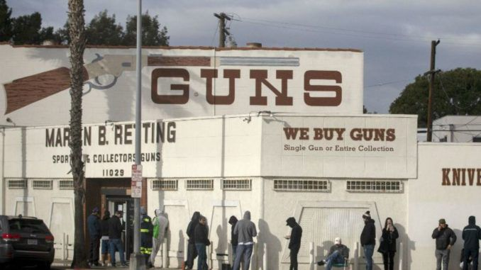 Los Angeles County Sheriff Alex Villanueva reverses order on gun stores closures
