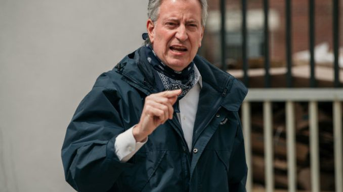 Bill de Blasio is surprised to learn that the prisoners he set free are committing crimes