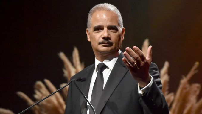 Former Obama administration attorney general Eric Holder has given the Democrats' game away with a single comment.