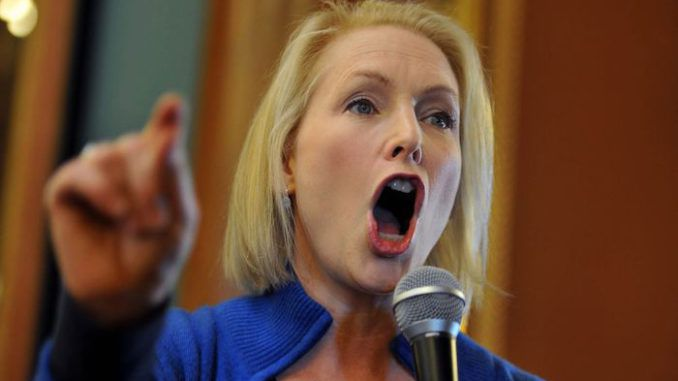 Kirsten Gillibrand says she stands by Joe Biden despite sex assault allegation