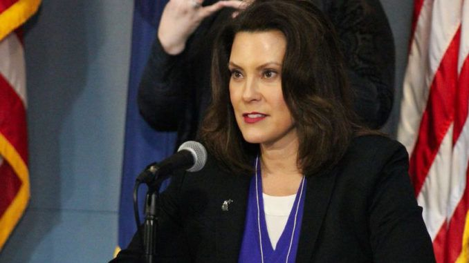 Democrat Michigan Gov. Gretchen Whitmer says she doesn't regret her lockdown policy in the face of widespread protests in the capitol