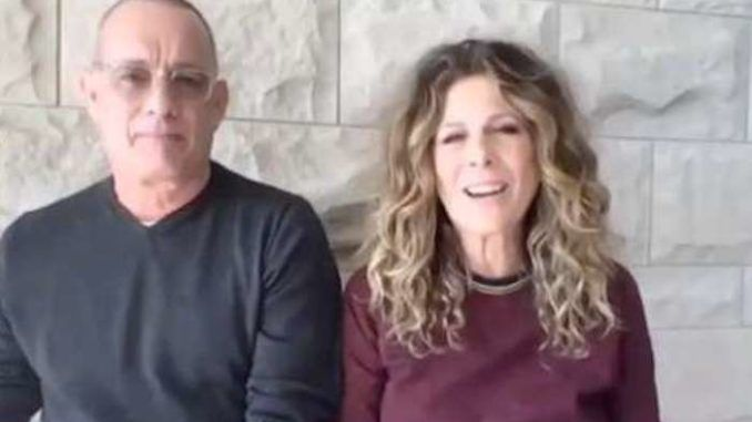 Former first lady Michelle Obama teamed up with Tom Hanks and his wife Rita Wilson on Monday to push for mail-in voting across America in the November presidential election.