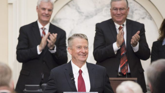 "Idaho Republican Gov. Brad Little signed legislation Monday that made the state the first in the union to ban transgender athletes from girl's and women's sports and athletic events— and liberals across the nation are melting down about the ""travesty"", with ACLU even vowing to see Gov. Little in court."