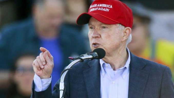 Jeff Sessions calls for a halt on foreign worker visas so that Americans can work and earn