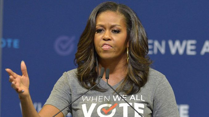 Michelle Obama pushes mail-in voting scheme for this November's presidential election