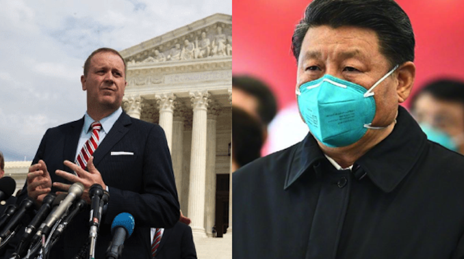 "The state of Missouri has filed a lawsuit against the Chinese communist government over the coronavirus pandemic, claiming China is responsible for the outbreak that has caused ""enormous death, suffering, and economic losses they inflicted on the world, including Missourians."""