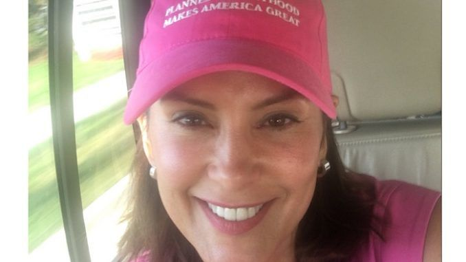 Photo emerges of Michigan Gov. Gretchen Whitmer mocking Trump in pro-abortion hat
