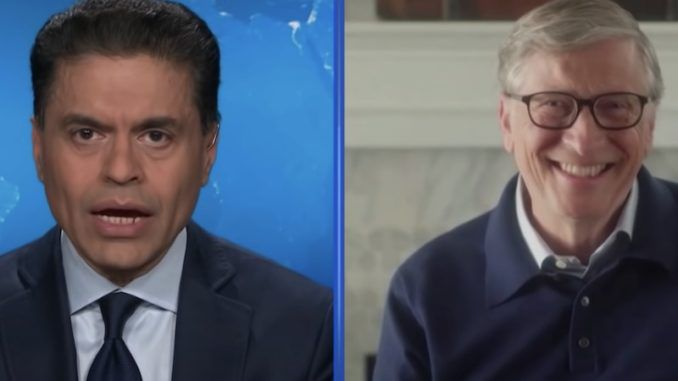 Microsoft founder and self-styled savior of the world Bill Gates couldn't suppress a huge smirk when a CNN anchor said people will be surprised at how badly the US economy will crash and burn in the wake of the coronavirus pandemic.