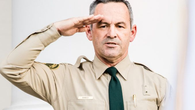 Patriotic California sheriff refuses to make criminals out of business owners
