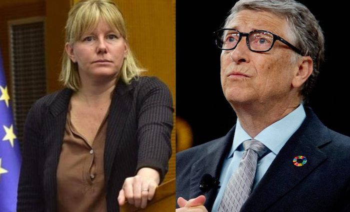 """Bill Gates is a """"criminal"""" who must be charged with """"crimes against humanity"""" by the International Criminal Court, according to an Italian Member of Parliament."""