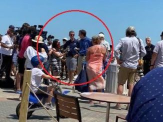 Virginia Gov. Ralph Northam spotted at beach not social distancing and not waring a mask