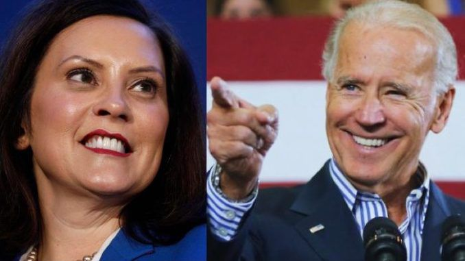 Michigan Gov. Gretchen Whitmer defends Biden, says not all sexual assault accusations are equal