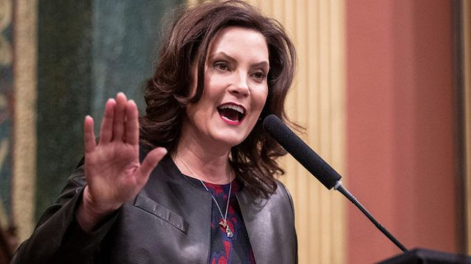 Gov. Gretchen Whitmer slams protestors for depicting some of the worst 'racism' in USA history