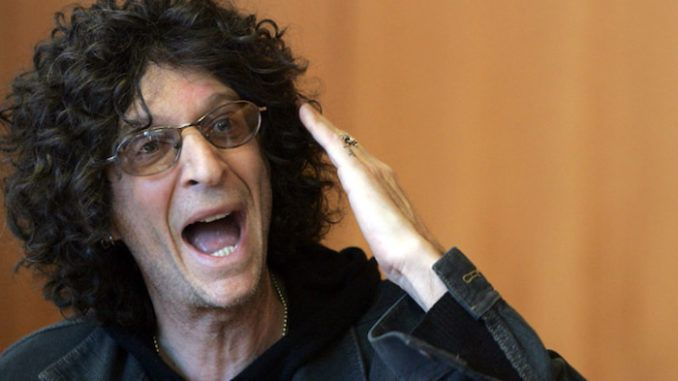 Howard Stern tells Trump supporters that POTUS is disgusted by all of them
