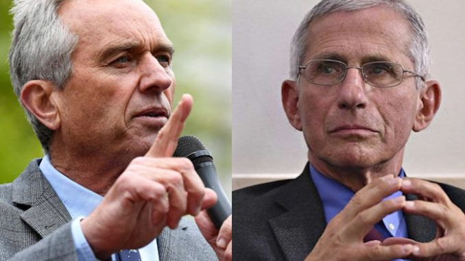 "Dr. Anthony Fauci is a ""criminal"" according to Robert F. Kennedy Jr., who has vowed to bring the immunologist and head of the National Institute of Allergy and Infectious Diseases (NIAID) to justice."