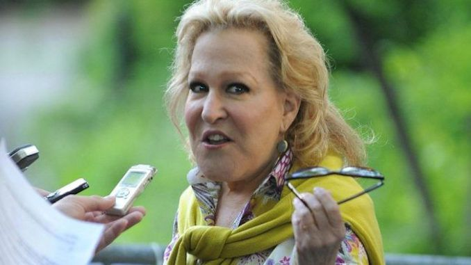 Bette Midler got caught spreading another nasty anti-American message on social media during the coronavirus pandemic and no-nonsense Americans lined up around the block to set the elderly liberal actress straight.