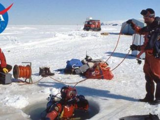"""NASA scientists working on an experiment in Antarctica may have detected evidence of a """"parallel universe"""" where """"time runs backwards"""" and """"the rules of physics are the opposite of our own."""""""
