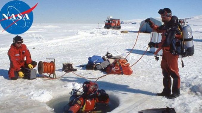 "NASA scientists working on an experiment in Antarctica may have detected evidence of a ""parallel universe"" where ""time runs backwards"" and ""the rules of physics are the opposite of our own."""