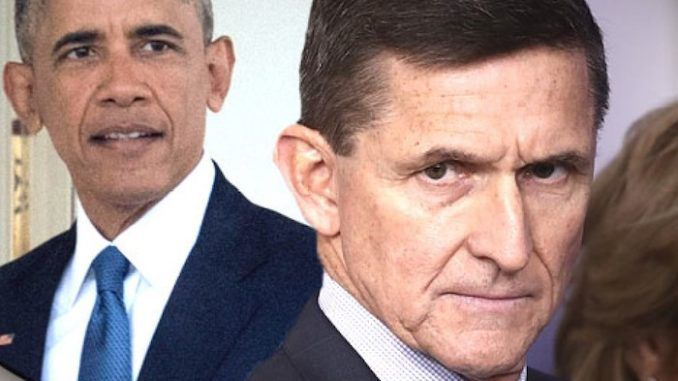 Barack Obama urged Trump not to hire General Flynn, who was about to expose his dirty deeds