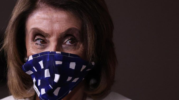 "Nancy Pelosi's House Democrats latest coronavirus relief package includes a mandate that federal inmates, as well as local convicts and illegal aliens, be released from jail so long as a court considers them ""non-violent"" offenders."