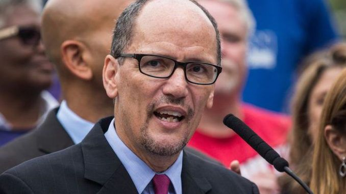 DNC Party Chair Tom Perez claims Republicans are scared of vote-by-mail because they are afraid of losing the election