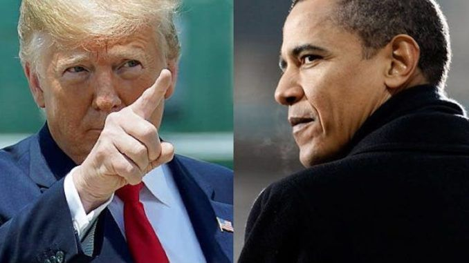 "President Donald Trump has suggested Barack Obama ""should be going to jail"" for his part in unmasking former national security advisor Mike Flynn and wiretapping the Trump campaign during the last election."