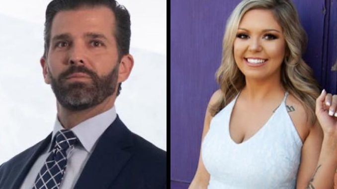 """Donald Trump Jr. has offered to walk a young Texan woman down the aisle on her wedding day after she posted a video explaining her """"liberal"""" parents disowned her because she is marrying a conservative man."""