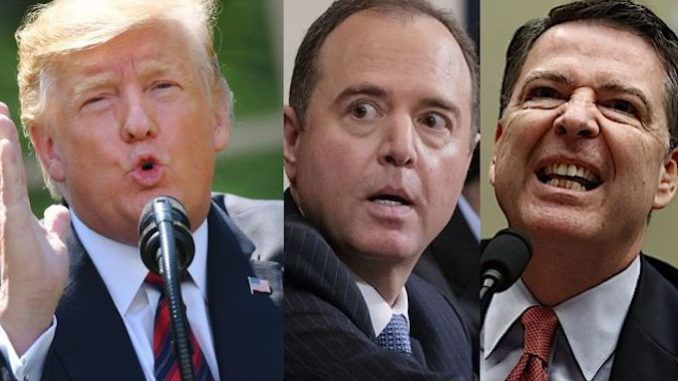 Trump declares that crooked politicians and dirty cops will pay the price for the Russia collusion hoax