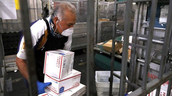 USPS mail carrier criminally charged with fraud after tampering with vote-by-mail requests