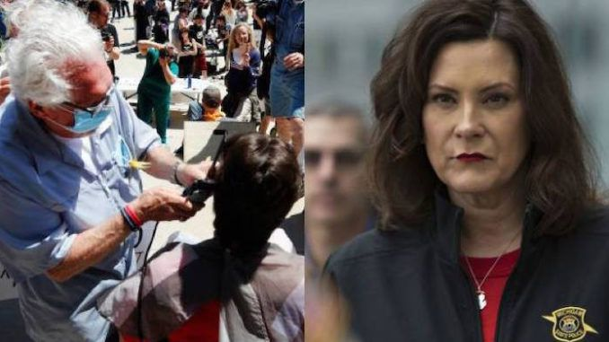 Gov. Gretchen Whitmer loses again to elderly barber after judge rules his shop can remain open