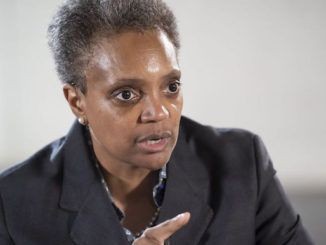 """Chicago Democrat Mayor Lori Lightfoot promised to hire department heads and deputies who will be """"pledging allegiance to the new world order and good governance"""" in a disturbing interview after her landslide election victory."""