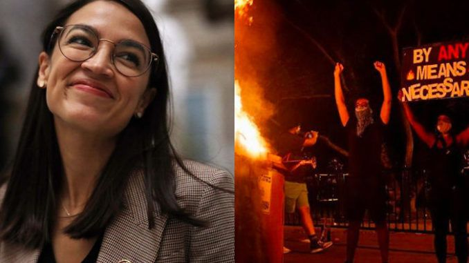 Rep. AOC says she supports the defund the police movement