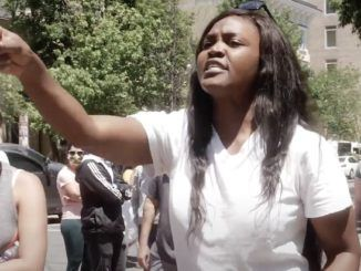 "Black Lives Matter activists are ""the racists"" because ""when black people kill black people, they don't come out and do this crap. The only time they do this crap is when a white person does it,"" Nestride Yumga, an American citizen who immigrated from Africa, told BLM protestors on Sunday."