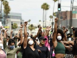 Black Lives Matter descend upon Beverly Hills