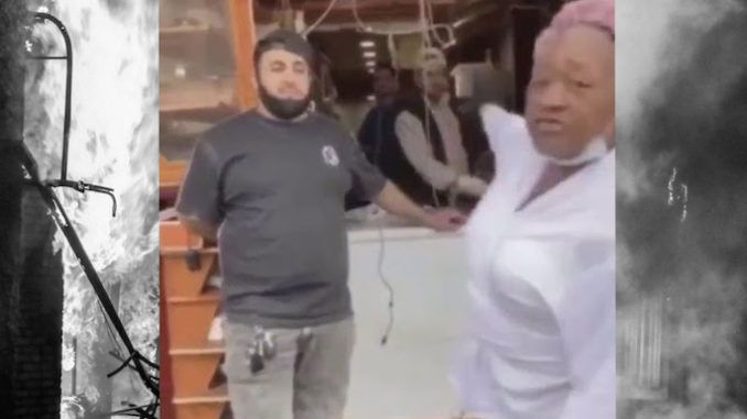 """A black grandmother and business owner whose shop was vandalized and looted during violent riots has sent a no-holds-barred message to Black Lives Matter protestors: """"Stop stealing. This is our neighborhood. We are trying to build it up and you are tearing it down."""""""